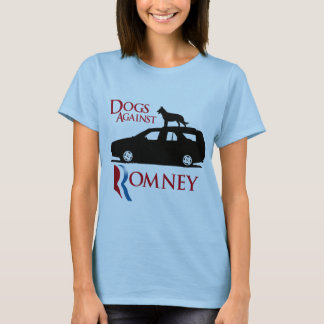 Dogs Against Romney -.png T-Shirt