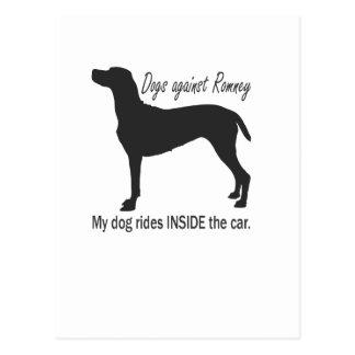 Dogs Against Romney Postcard