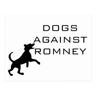 Dogs Against Romney Post Cards