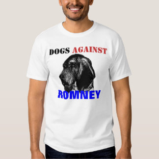 Dogs Against Romney Shirts