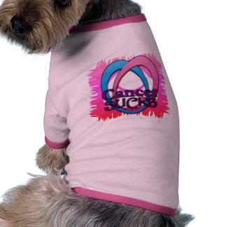 Dogs agree Cancer Sucks pet shirt