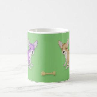 Dogs And A Bone Classic White Coffee Mug