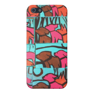 Dogs and Cats Paintings Case For iPhone SE/5/5s