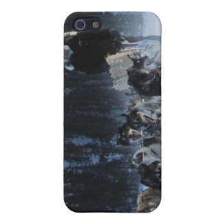 Dogs and Musher iPhone 5 Covers
