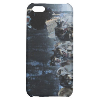 Dogs and Musher iPhone 5C Case