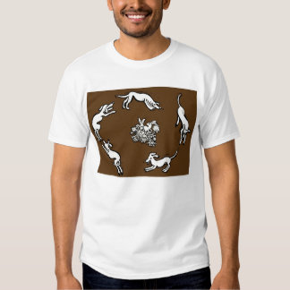Dogs and rabbits t-shirt