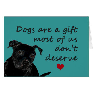 Dogs Are a Gift Cards
