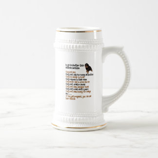 Dogs Are Better Than Children Because Beer Stein