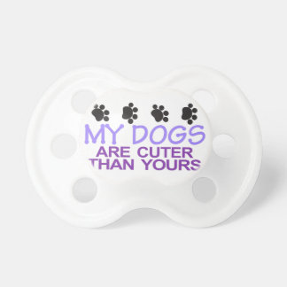 Dogs Are Cuter Pacifier