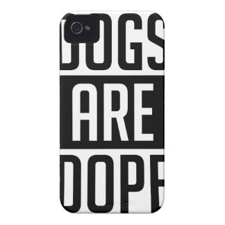 Dogs Are Dope iPhone 4 Case-Mate Case
