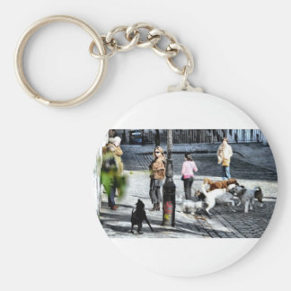 Dogs Are Everywhere - Paris Keychain