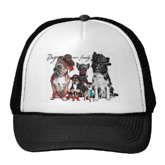 Dog's Are Family Hats