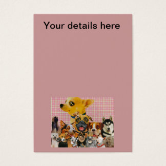 Dogs are Fun Business Card
