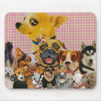 Dogs are Fun Mouse Pad