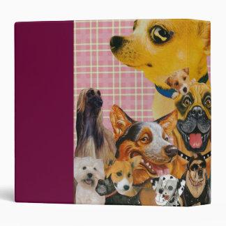Dogs are Fun Vinyl Binders