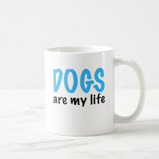 DOGS are my life Classic White Coffee Mug