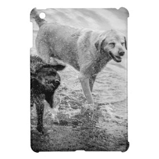 Dogs at the Beach iPad Mini Case