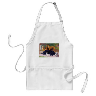 Dogs at the Gate Adult Apron