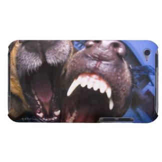 Dogs barking barely there iPod case