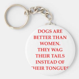 dogs basic round button keychain