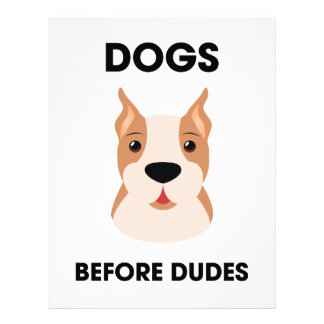 Dogs Before Dudes Letterhead