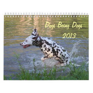 Dogs Being Dogs 2013 Calendar