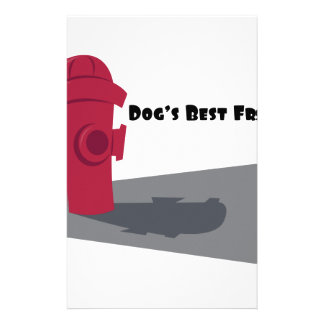 Dogs Best Friend Stationery