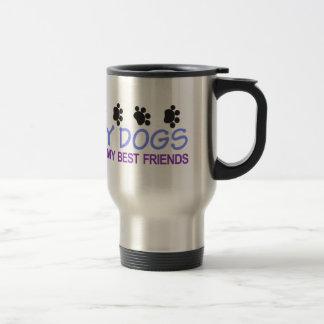 Dogs Best Friends Travel Mug