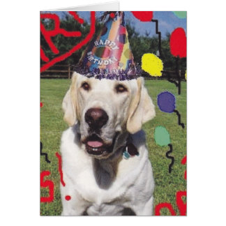 Dogs Birthday greeting Stationery Note Card