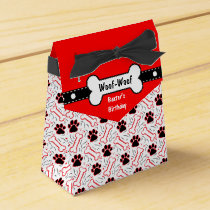 Dog's Birthday Party Dog Bone Party Favors Favor Box