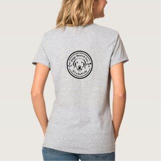 Dogs & Boating Women's V-Neck T-Shirt