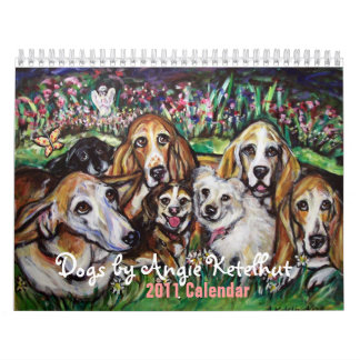 Dogs by Angie 2011 Calendar