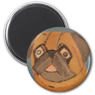 dogs by eric ginsburg 2 inch round magnet