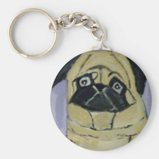 dogs by eric ginsburg basic round button keychain