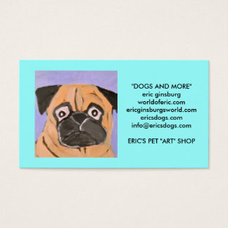 dogs by eric ginsburg business card