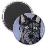 dogs by eric ginsburg fridge magnet