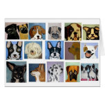 dogs by eric ginsburg greeting card