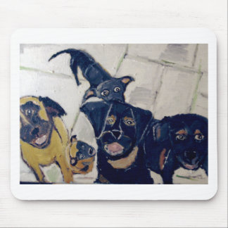 dogs by eric ginsburg mouse mat