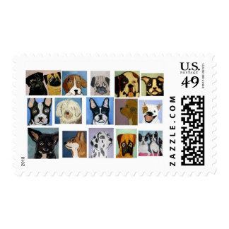 dogs by eric ginsburg postage