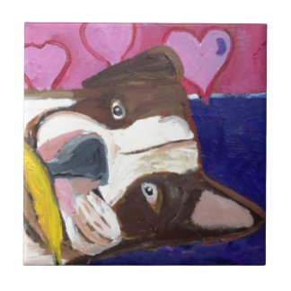 dogs by eric ginsburg tile
