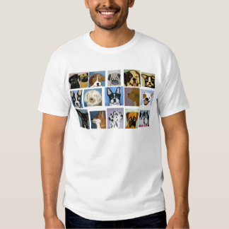 dogs by eric ginsburg tshirt