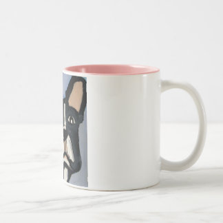 dogs by eric ginsburg Two-Tone coffee mug