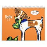 Dogs by Off-Leash Art Vol 3 Wall Calendar