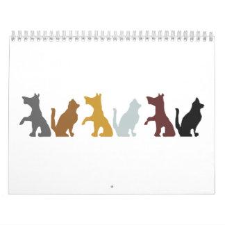 Dogs' cartoon calendar