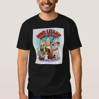 Dogs Christmas Mens T-shirt