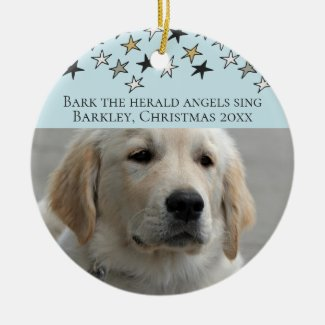 Dogs Christmas Personalized Photo Template