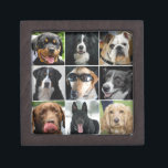 "dogs collage keepsake box<br><div class=""desc"">great pictures collection of beautiful dogs,  great gift for dog lovers.