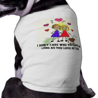 Dogs don't discriminate tee