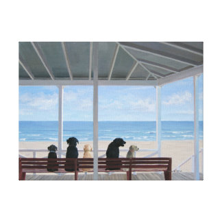 Dogs Eye View Canvas Print