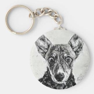 Dog's Eyes Keychain